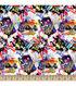 Doctor Who Cotton Fabric 43\u0022-Graffti Toss