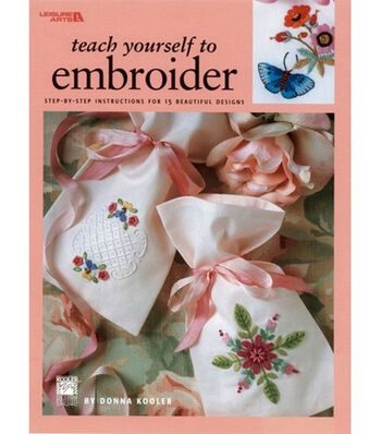 Teach Yourself To Embroider
