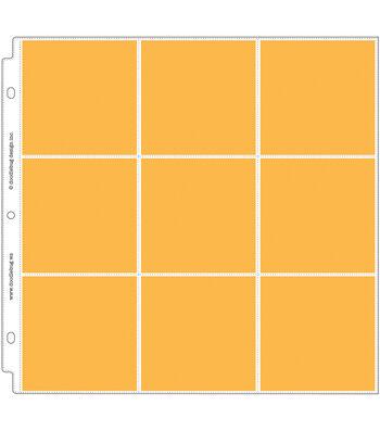 "Doodlebug Page Protectors 12""X12""-4""X4"" Pocket Squares"