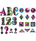 Circle Frenzy 5\u0022 Uppercase Fancy Font Letters