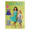 McCall\u0027s Girls Dress-M6915