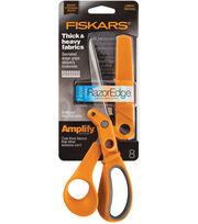 Amplify Softgrip Serrated Sewing Scissor, , hi-res