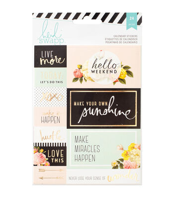 Heidi Swapp Memory Planner Calendar Stickers 2/Sheets