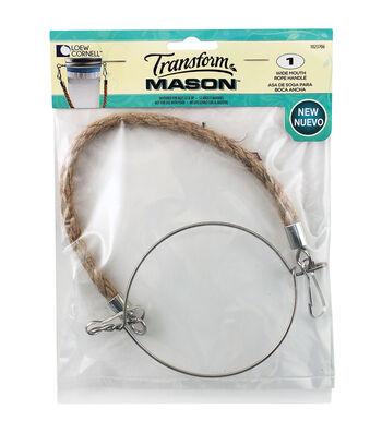 Transform Mason Rope Handle 1/Pkg-Wide Mouth
