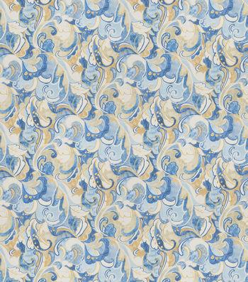 "SMC Designs Upholstery Fabric 54""-Challenge/Atlantic"