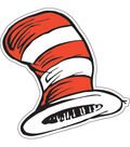 Dr. Seuss™ Cat in the Hat Paper Cut Outs