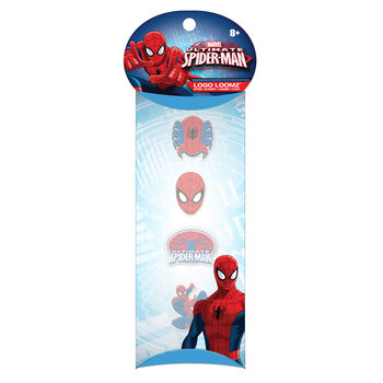 Forever Collectibles Logo Loomz Charm Pack Marvel Comics™ Spider-Man®