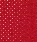 Quilter\u0027s Showcase™ Cotton Fabric 44\u0022-Red Dot