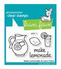 Lawn Fawn Clear Stamps 3\u0022X2\u0022-Make Lemonade
