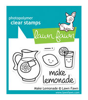 "Lawn Fawn Clear Stamps 3""X2""-Make Lemonade, , hi-res"