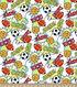 Snuggle Flannel Fabric 42\u0027\u0027-Game On