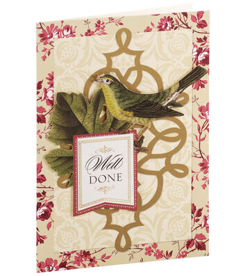 Anna Griffin Card Kit Congrats Vintage