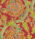 Waverly Print Fabric 54\u0022-Holi Festival/Jewel