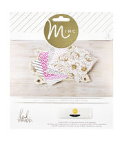 "Heidi Swapp Minc Paper 6""X6""-5th Avenue 12/Pkg, , hi-res"