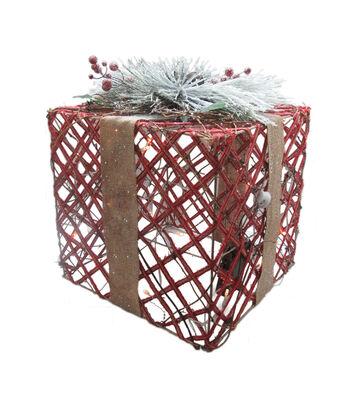Maker's Holiday Christmas Small LED Gift Box