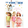 Kwik Sew Crafts Doll Clothes-K3688