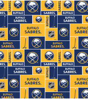 "Buffalo Sabres Fleece Fabric 60""-Block, , hi-res"