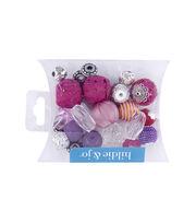 hildie & jo™ Mix Beads-Purple & Pink, , hi-res