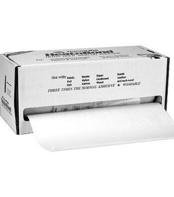 "Heat'n Bond Ultra Hold Iron-On Adhesive-White 17""X75yd"