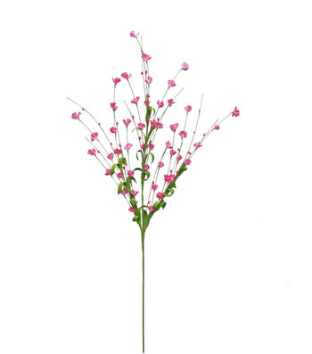 "Blooming Spring 29"" Mini Flower Spray-Pink"