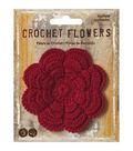 Wrights Crochet Flower Applique-3\u0022