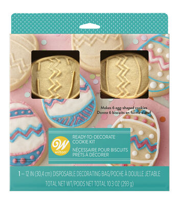 Wilton® Easter Ready-to-Decorate Egg Cookie Kit
