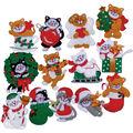 Design Works Felt Applique Kit Lots Of Kittens Ornaments