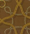 Home Decor 8\u0022x8\u0022 Fabric Swatch-Waverly Chain Reaction/Bronze