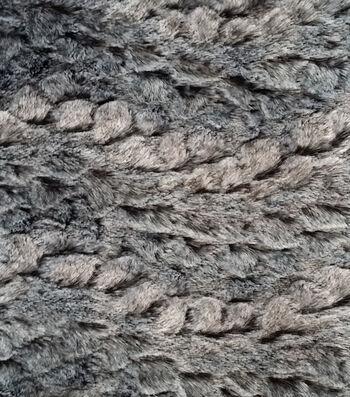 Luxury Faux Rabbit Fur Fabric 58''