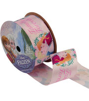 "Frozen Ribbon 1-1/2""x9'-Family Forever, , hi-res"