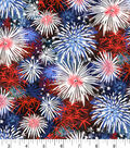 Patriotic Cotton Fabric 43\u0027\u0027-Fireworks