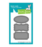 Lawn Fawn Lawn Cuts Custom Craft Die -Stitched Labels, , hi-res