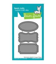 Lawn Fawn Lawn Cuts Custom Craft Die -Stitched Labels, , hi-res