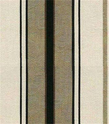 "Waverly Upholstery Fabric 54""-Newbury Stripe Linen"