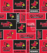 "Illinois State University Redbirds Fleece Fabric 44""-Block, , hi-res"