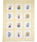 Janlynn ABC 123 Quilt Blocks Stamped Cross Stitch 12PK