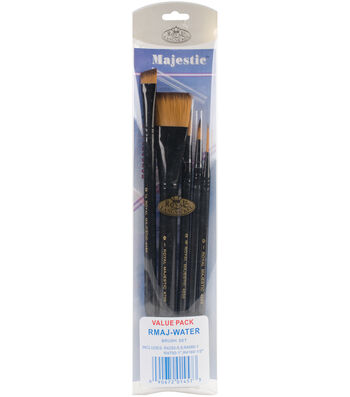 Majestic Watercolor Deluxe Brush Set 5 Pack