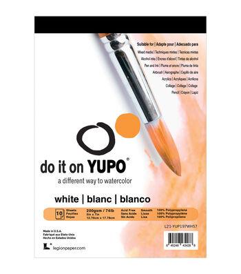Yupo Paper 10ct 5''x7''-White