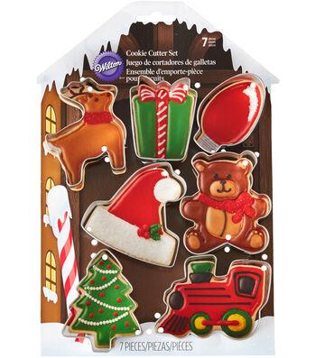Wilton® Metal Cookie Cutter Set-Santa's Workshop