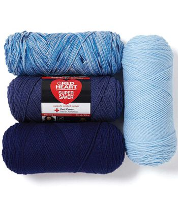 Red Heart Super Saver Yarn 3pk