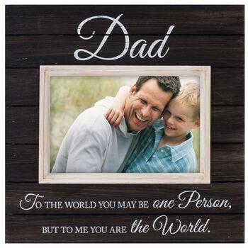 Tabletop Storyboard Frame 4X6-Dad