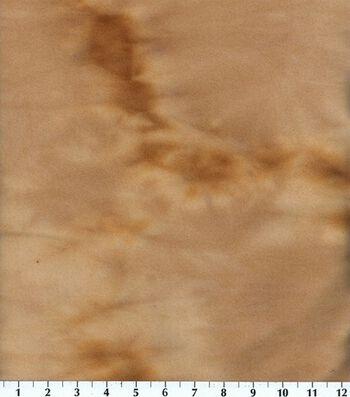 "Blizzard Fleece Fabric 59""-Khaki Tie Dye"