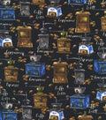 Novelty Cotton Fabric 44\u0027\u0027-Freshly Ground