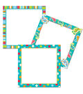 Dots on Turquoise 6\u0022 Designer Cut-Outs