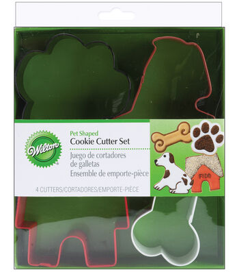 Wilton® Metal Cookie Cutter Set-Pet Theme
