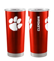 Clemson University Tigers 20 oz Insulated Stainless Steel Tumbler, , hi-res