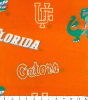 "University of Florida Gators Fleece Fabric 58""-Allover Orange, , hi-res"
