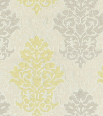 """Waverly Upholstery Fabric 56""""-Romantic Rhyme/Sterling"""