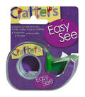 Crafter\u0027s Easy See Removable Craft Tape .5\u0022X720\u0022-Green