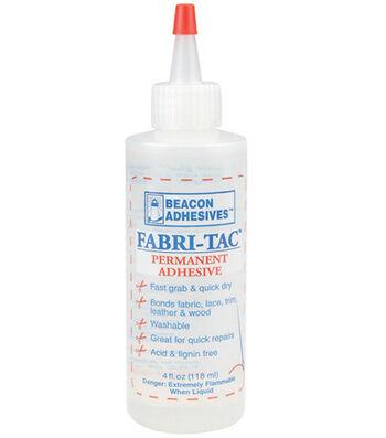 Fabri-Tac Permanent Adhesive-4oz
